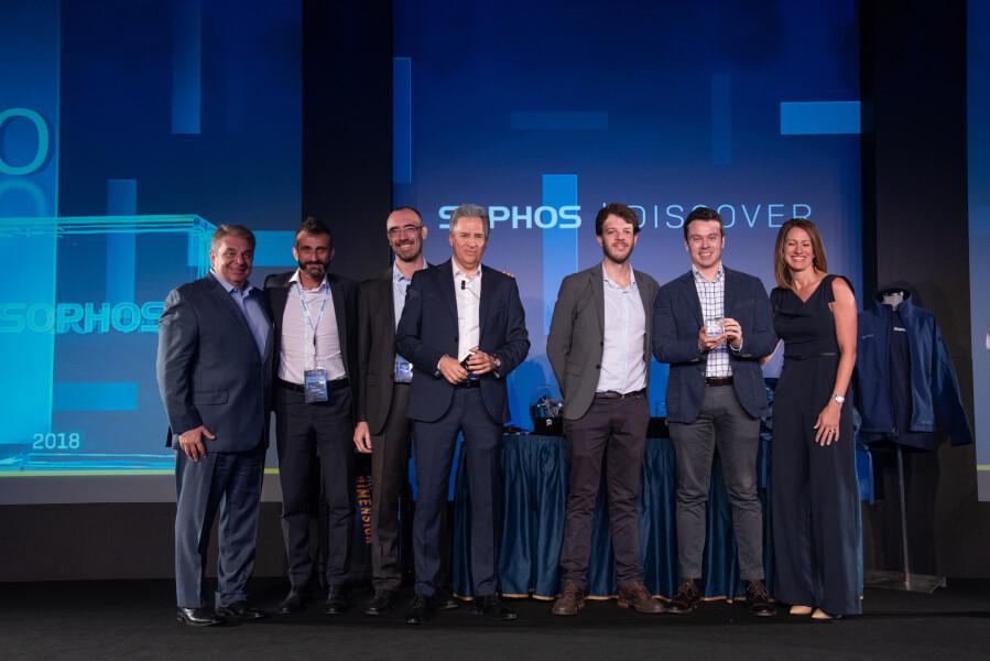 Sophos Partner Conference 2018: Guttadauro riceve il premio di migliore Managed Service Provider Italiano